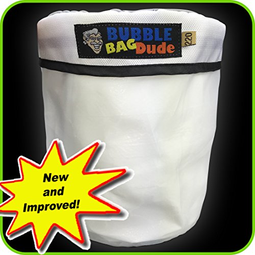 220 Micron Zipper Bag for 5 Gallon Bubble Machine Ice Now Magic - Herbal Extractor - From Bubblebagdude Offer Reusable Durable Quality Bag (Dry Ice Bags compare prices)