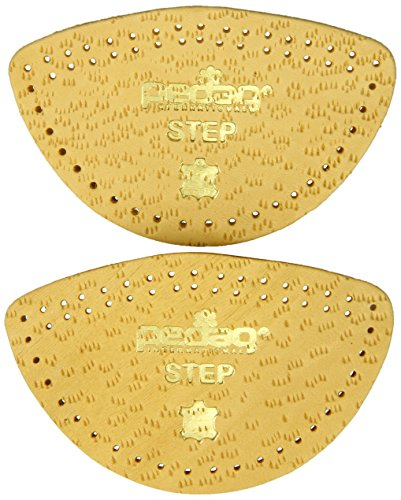 Pedag Step 16647 Symmetrical Self Adhesive Arch Support Inserts, Tan Leather, Small