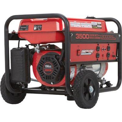 Cpe Power Generator With Wheel Kit - 3500 Surge Watts/3000 Rated Watts, Model#46599