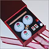 England PTS & Cufflinks Gift Set (red)by Titleist