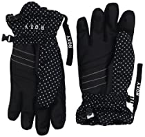 Roxy SNOW Girls 7-16 Pine Glove, Black, Large
