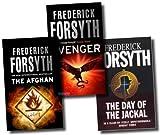 Frederick Forsyth Frederick Forsyth Collection 3 Books Set (The Afghan, Avenger, The Day Of The Jackal)