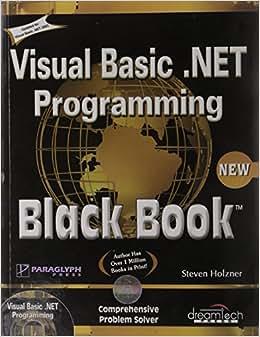 Buy Visual Basic Net Programming Black Book Book Online