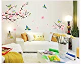 Oren Empower Peach blossom PVC Vinyl Large Wall Sticker