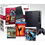 PlayStation 3 160 GB Black Friday Bundle w/ Uncharted 2,Karate Kid Blu-Ray