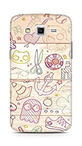 Amez designer printed 3d premium high quality back case cover for Samsung Galaxy Grand 2 G7102 (Design 4)