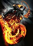 GHOST RIDER SPIRIT OF VENGEANCE - TEXTLESS MOVIE FILM WALL POSTER - 30CM X 43CM NICOLAS CAGE