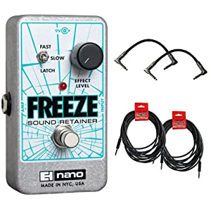 Electro Harmonix Freeze Sustain Pedal Bundle
