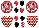 MAD ABOUT MINNIE MOUSE BIRTHDAY PARTY Balloons Decorations Supplies