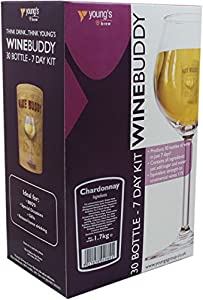 WineBuddy Chardonnay 30 Bottle - Home brew Wine Making Kit