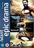 IWant Epic Drama Collection (300 / 10,000 BC / Beowulf) [DVD]