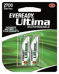 Eveready Recharge BP2 AA 2700 NIMH Battery