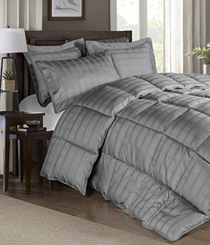 Chezmoi Collection 300 Thread Count Cotton Plaid Goose
