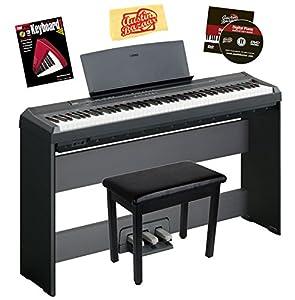 Yamaha keyboard stand car interior design for Yamaha p105 digital piano bundle