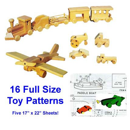 Project Plans: Wooden Toy Plans (Woodworking Plan)