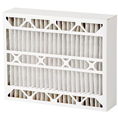 Quality Filters 20 x 25 x 5 in. Merv 11 Micro-Allergen Whole House Cartridge Air Filter, Pack of 2