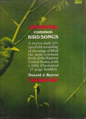 Common Bird Songs (33 1/3 Rpm Lp Album With Booklet)