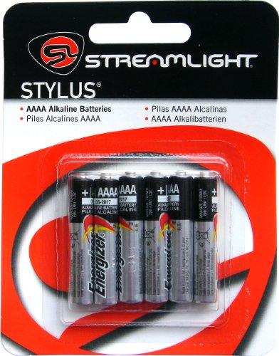 STREAMLIGHT アルカリ単6電池 6本パック WSL65030 WSL65030