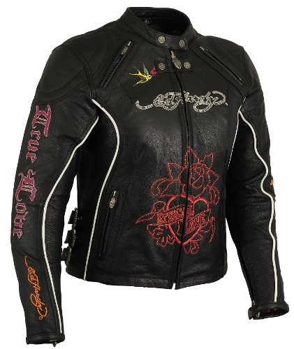 First Manufacturing Ed Hardy Ladies Jacket with Side ...
