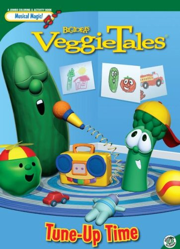 Big Idea's VeggieTales Tune-up Time Jumbo Coloring & Activity Book - Buy Big Idea's VeggieTales Tune-up Time Jumbo Coloring & Activity Book - Purchase Big Idea's VeggieTales Tune-up Time Jumbo Coloring & Activity Book (Simon Scribbles, Toys & Games,Categories,Arts & Crafts)