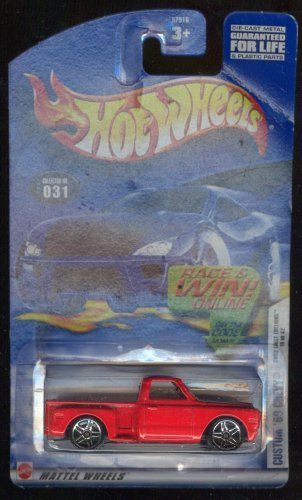 Hot Wheels 2002-031 Custom '69 Chevy First Edition 19 of 42 1:64 Scale - 1