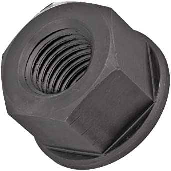 Carbon Steel Hex Nut, Black Oxide Finish, Grade 8, Right Hand Threads, Inch, Made in US