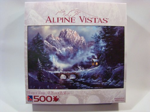 Alpine Vistas 500 Piece Jigsaw Puzzle: Cinnamon Creek