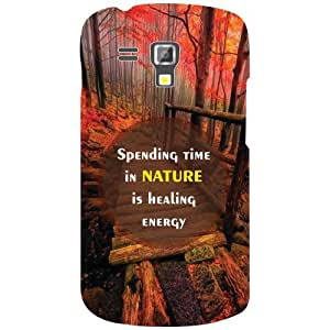 Printland Spend Time In Nature Phone Cover For Samsung Galaxy S Duos 7582
