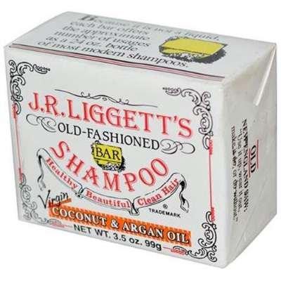 J.R. Liggett Bar Shampoo Virgin Coconut Aragan Oil - 3.5 Ounce, 4 Pack front-803226