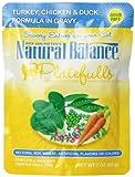 Natural Balance Platefulls - Turkey/Chicken/Duck - 24 x 3 oz