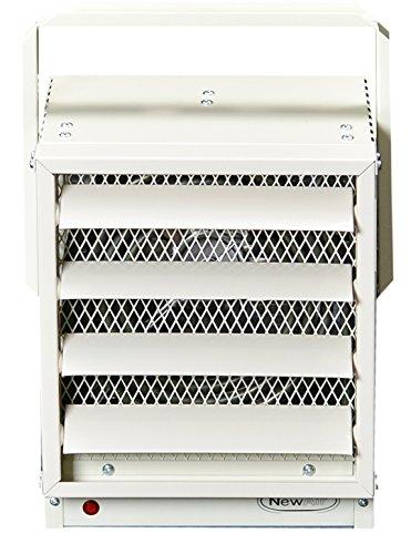 NewAir G73 Hardwired Electric Garage Heater, 17060 BTUs, Ivory (Garage Heater 120 compare prices)