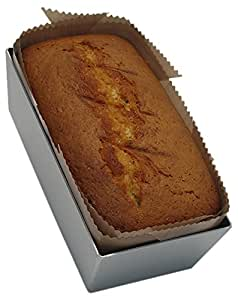 Bake-O-Glide 2 lb Woven Glass Fabric Coated in 100 Percent PTFE Loaf Tin Liner, Brown