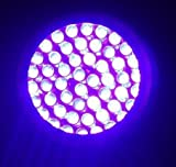 Black Light UV Flashlight Urine Detector – Professional Quality Ultra Bright Stain pee Finder – 12 UV Blacklight LEDs in Aluminium Casing for Detecting Dry Pet Dog-Cat-Rodent Urine Stains on Carpet, Rugs, Curtains & Furniture Fabrics That are Otherwise In