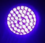 HQRP Professional 365 nM 9 UV LED Longwave Ultraviolet Leak Detection Flashlight / Blacklight + HQRP UV Meter