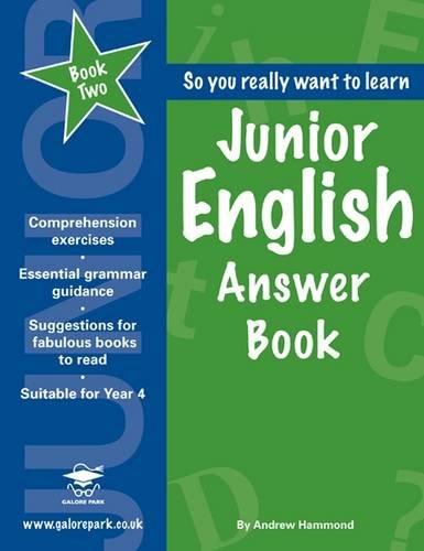 Junior English Book 2 Answer Book