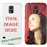 Personalized Custom Picture Single iPhone 5 / iPhone 5S Rubber Case Design your own picture