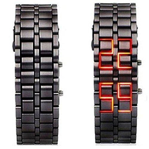 Orologio  Nessuno Iron Samurai Watch Red display Nessuno cinturino  Standard e quadrante   1858501