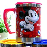 Japan Mickey Mouse 450 ml Stainless Steel Double Wall Insulated Thermos Mug Coffee Tea Cup
