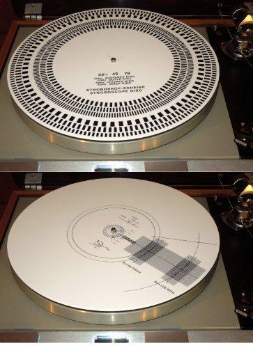 Acrylic-Turntable-Mat-Cartridge-Alignment-Protractor-Strobe-Disc-Stroboscope