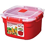 Sistema Microwave Steamer Container with Removable Steamer Tray - 1.4 L