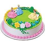 DecoPac 33061 Disney Princess Garden Royalty DecoSet - 6 / BX