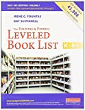 img - for The Fountas & Pinnell Leveled Book List, K-8+: 2013 - 2015 Edition, Volume 1 & 2 by Fountas, Irene, Pinnell, Gay Su (2013) Paperback book / textbook / text book
