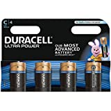 Duracell MX1400 Ultra Power C Size Batteries--Pack of 4