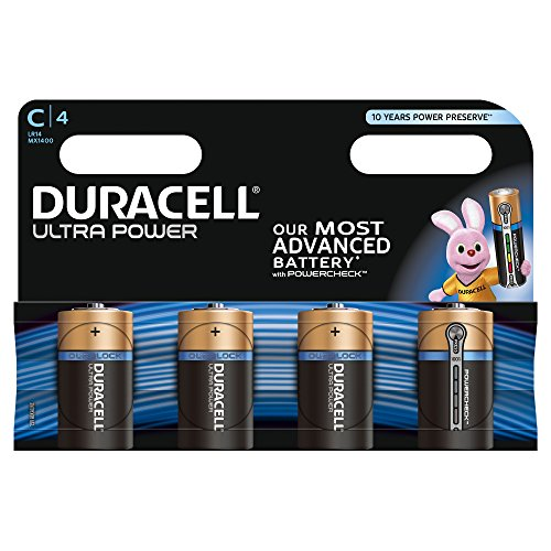 Duracell - Pile Alcaline - Cx4 Ultra Power (LR14)