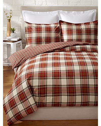 Eddie Bauer Edgewood Plaid Duvet Set
