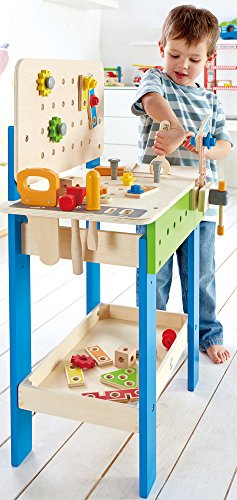 3. TODDLER: Hape Wooden Master Workbench