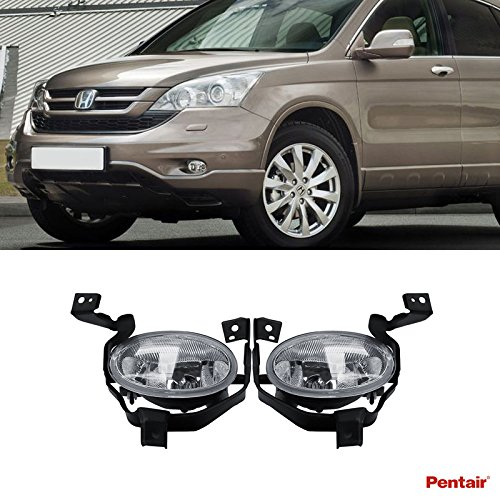 VioGi 2pcs Aftermarket JDM Clear Lens Fog Lights Kit With Light Bulbs+Switch+Wiring Harness+Relay+Bracket & Necessary Mounting Hardware For 2010-2011 Honda CR-V (Relay Mounting Bracket compare prices)