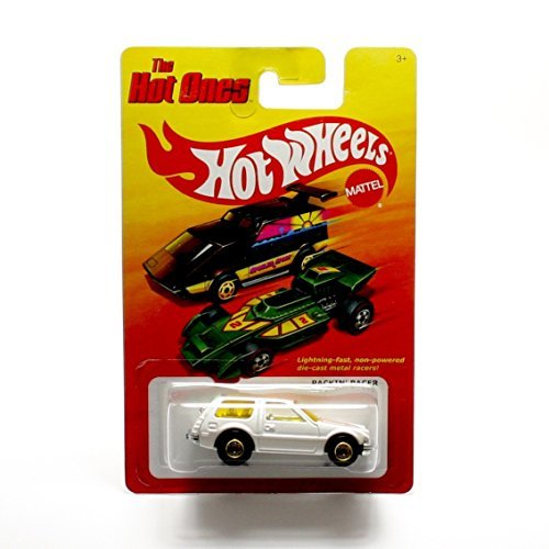 PACKIN' PACER (WHITE) * The Hot Ones * 2011 Release of the 80's Classic Series - 1:64 Scale Throw Back HOT WHEELS Die-Cast Vehicle - 1