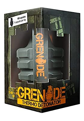 Grenade Thermo Detonator Thermogenic Weight Management Capsules - Tub of 100
