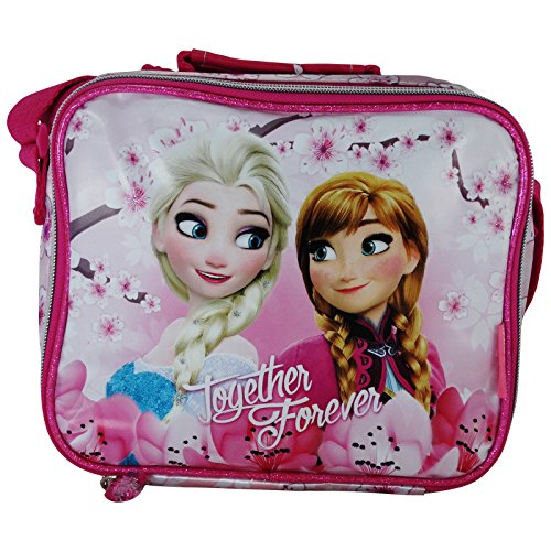 Disney Frozen Blossom Cestino Porta Pranzo Merenda Asilo Elementari Gite